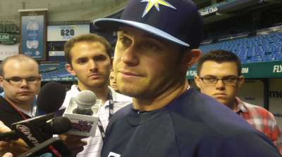 Longoria itching to return, avoid DL for foot injury