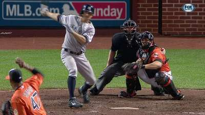 Phelps allows career-high nine runs in loss to O's