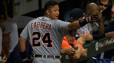 Rodney's strikeout heats up Tigers' Cabrera