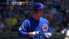 Cubs knock six doubles to clinch second straight series