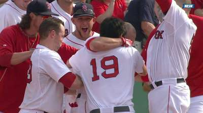 Red Sox beat Jays on walk-off error in ninth