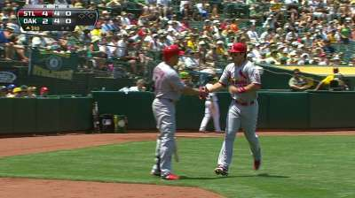 Westbrook unable to corral A's in series finale