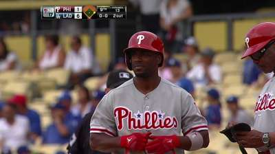 Phillies stumble on way out of Los Angeles