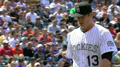 Rox recalling Pomeranz for opener with Marlins