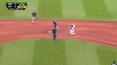 Francisco makes second start at third base