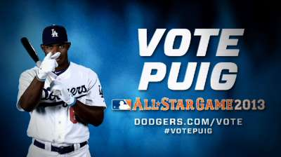 Clock is ticking on Puig's All-Star write-in chances