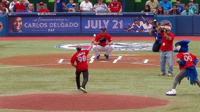 Blue Jays celebrate Canada Day