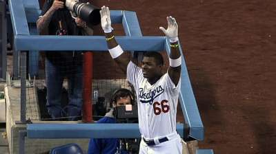 Puig's debut month second only to DiMaggio
