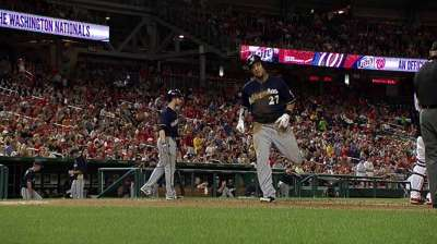 Brewers aiming for healthy Braun, Aramis after break