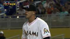 Fernandez's dazzling start hands Marlins series win
