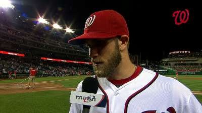 Harper returns, wastes no time giving Nats a boost