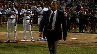 1993 ASG: James Earl Jones recites national anthem