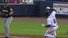 J-Up, Johnson lead Braves in rout of Marlins