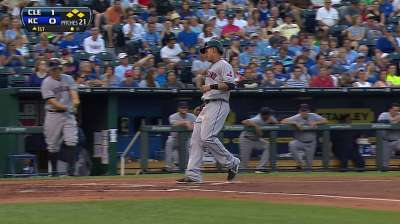 Tribe works victory count to five against KC