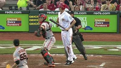 Giants become second team no-hit by Bailey