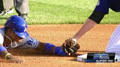 Oswalt, offense stumble against Dodgers