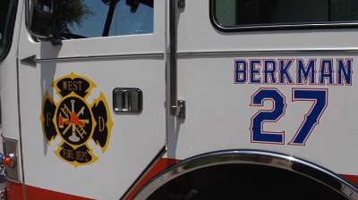 Berkman to donate fire truck to city of West