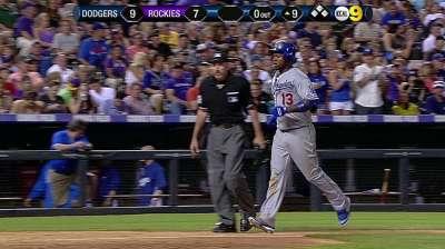 El bate de Hanley impulsó a Dodgers sobre Rockies