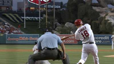 Angels' streak snapped at seven