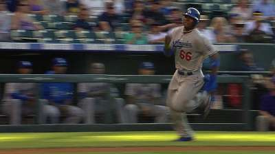 Puig reminds Crawford of another star rookie