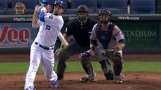 Hosmer's jack lifts Royals on wild night in KC