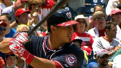Ramos returns to Nats after hamstring strain