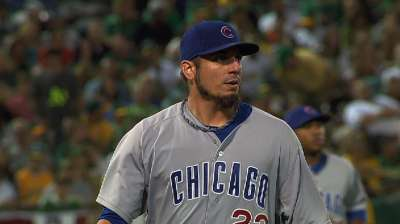Garza outduels Colon for third straight win