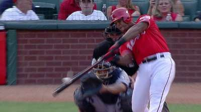 Beltre's blasts spark Rangers on Fourth of July