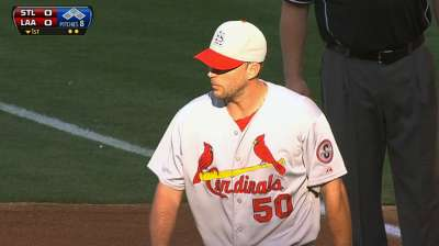 Cards shift rotation for two Wainwright starts