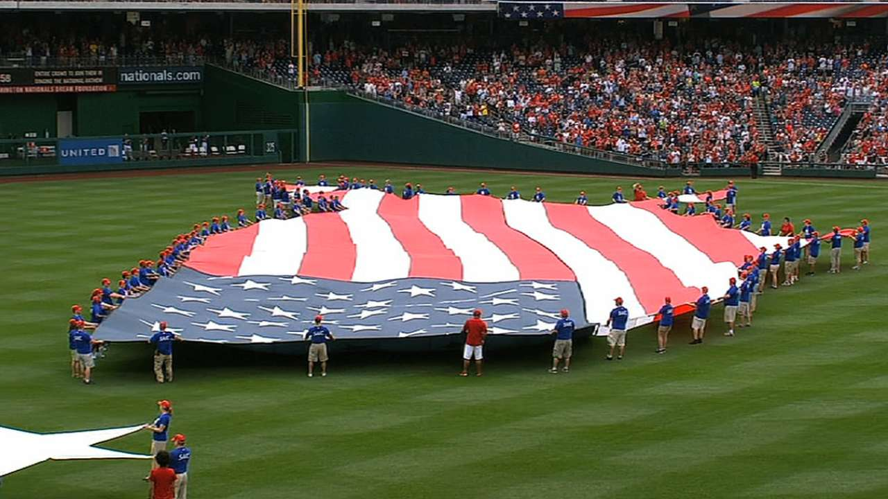 Baseball, Fourth of July go hand in hand