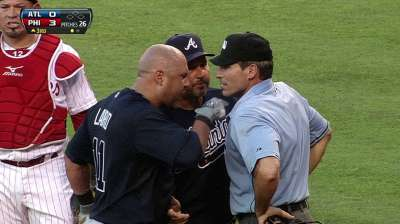 Laird, Gonzalez ejected for arguing third-strike call