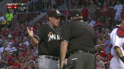 Marlins unable to bail out Turner in St. Louis
