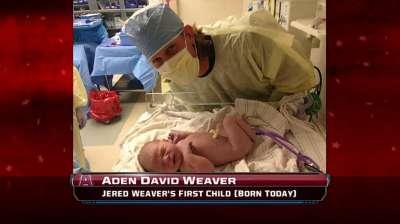 Weavers name son Aden to honor Adenhart