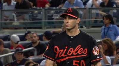 Johnson unable to shut door on Yankees