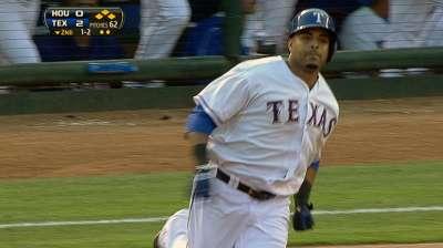 Rare runs in first spark three-homer outburst in Texas