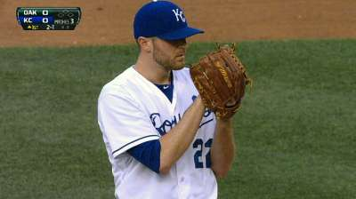 Davis to remain in Royals rotation