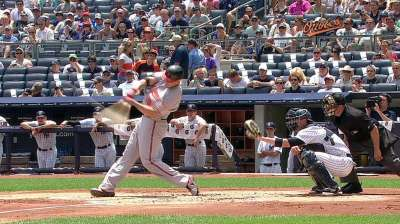 Davis homers, but Tillman takes first loss since May