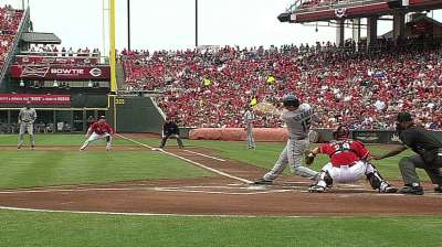 Seager's strong day not enough in Cincy