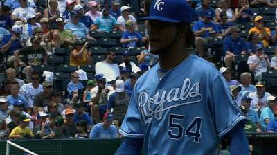Santana to start Royals' post-break rotation