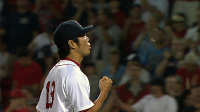 Red Sox helping Uehara's All-Star push