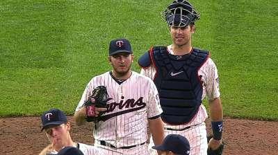 Longtime friends Mauer, Perkins named All-Stars