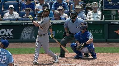 Health useful for Reddick's improved at-bats