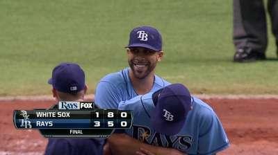 Joya de Price selló barrida de Rays sobre White Sox