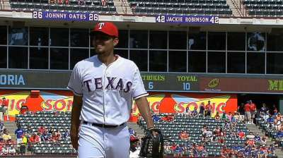 Soria's focus remains on Rangers, not KC homecoming