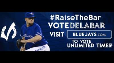Final Vote can send Delabar to All-Star Game