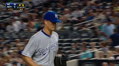 Guthrie, Royals gaining steam after topping Yanks