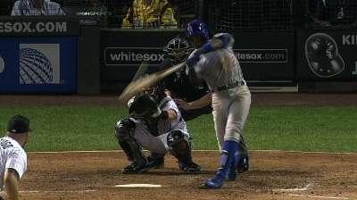 Ataque de Cubs al final fue mucho para White Sox