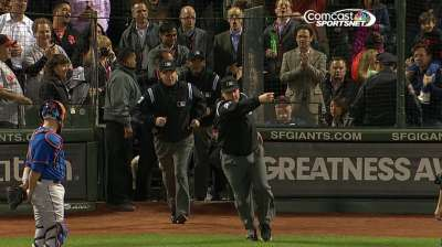 Bochy gives expanded replay thumbs-up