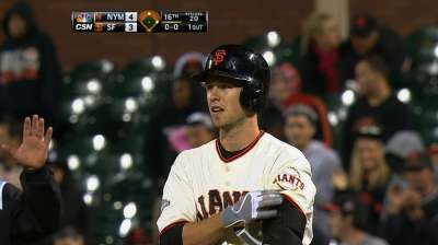 Missed chances sink Giants in 16 innings