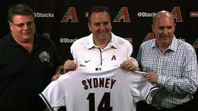 With Dodgers in town, D-backs look ahead to Sydney